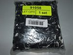 Terminal 6 mm2, 12 mm Black (1000 pieces)