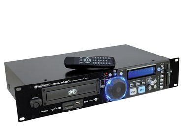 Omnitronic XDP-1400 CD/MP3 media player