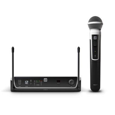 LD Systems U305 wireless microphone set Dynamic handheld microphone 514-542 MHz