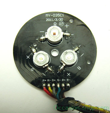 Showtec Disco Star LED pcb with cable (SPTOP1057)