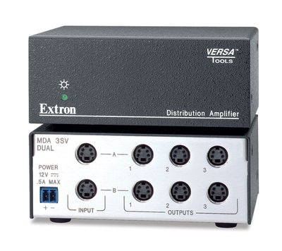 Extron MDA 3SV Dual Three Output S-Video MDA - Mini Distribution Amplifier