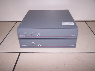 Extron PA-250 PA Peaking Amplifier & Sync Stripper for RGBHV